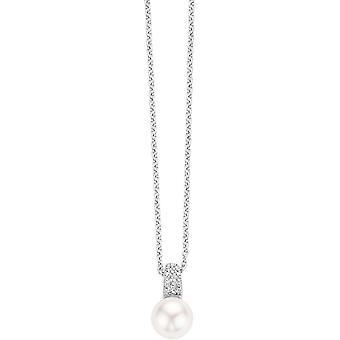 Colar e pingente Ti Sento liberar - colar e pingente 3877PW-42 Pearl White cristais mulher