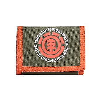 Element Elemental Polyester Wallet in Army