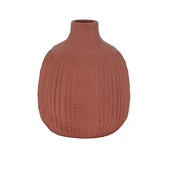 Light & Living Vase Deco 21x26cm Salvada Matt Terra