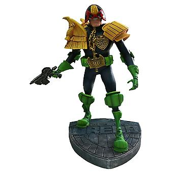 "Judge Dredd 12"" with Badge Base Statue"