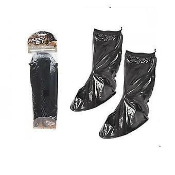 Csúcstalálkozó sáros láb vízálló overshoes közepes fekete