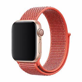 Devia Deluxe Sport3 Strap för Apple Watch (42/44 mm) - Nectarine