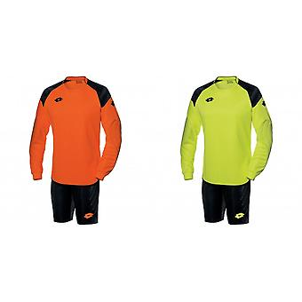 Lotto Mens Cross Long Sleeve Top And Shorts Goal Keeper Kit