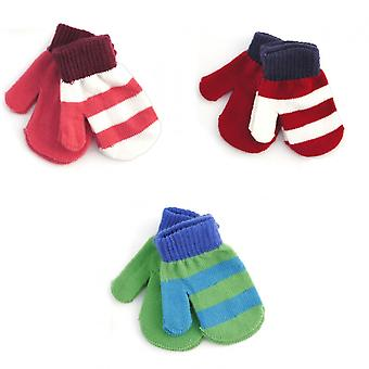 Baby Boys/Girls Winter Mittens (2 Pairs)
