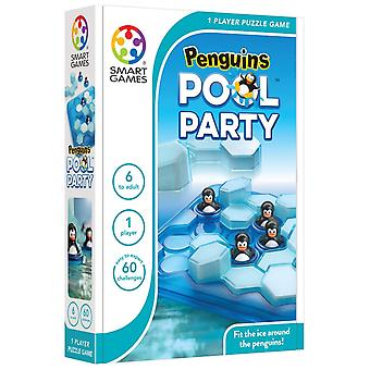 Penguins de SmartGames Pool Party jeu de Puzzle d'un joueur