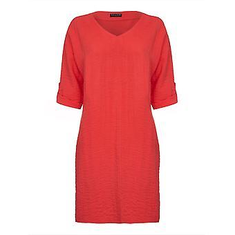 VIZ-A-VIZトマトルーズフィットドレス