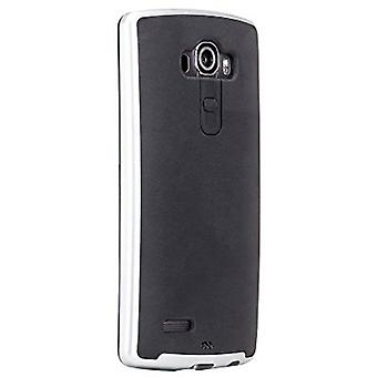 Case-Mate Slim Tough Case for LG G4 (Black/Silver)