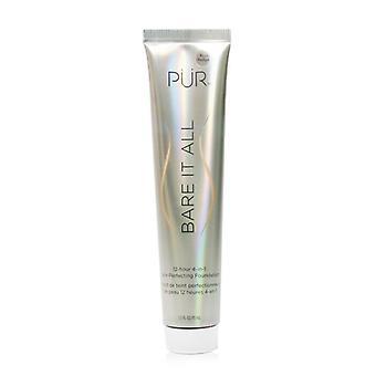 PUR (PurMinerals) Bare It All 12 Hour 4 in 1 Skin Perfecting Foundation - # Blush Medium 45ml/1.5oz