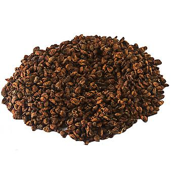 Chubby dried silkworm pupae (select your size)*