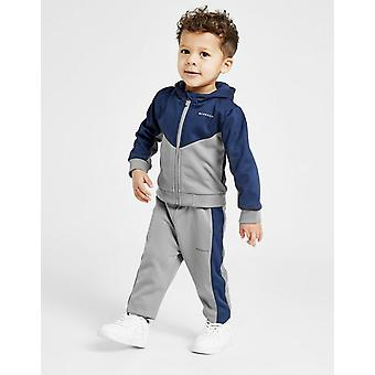 New Mckenzie Boys' Micro Bixente Full Zip Tracksuit Grey