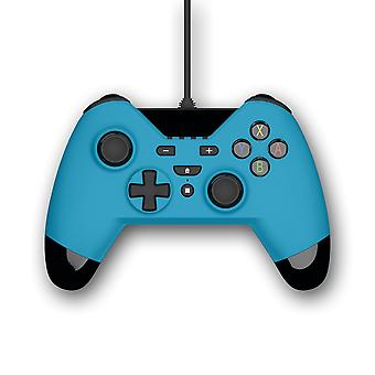 Gioteck WX4 Wired Blue Controller (Nintendo Switch, PS3 e PC)