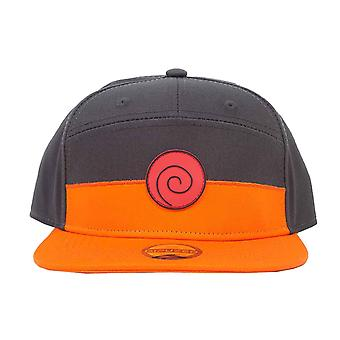 Naruto Shippuden Baseball Cap Logo new Official Anime Black Snapback