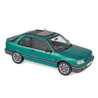 Peugeot 309 GTi (1991) in Goodwood Green (1:18 scale by Norev 184883)