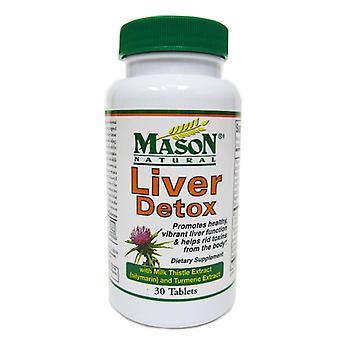 Mason natural liver detox, tablets, 30 ea