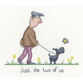 Heritage Crafts Cross Stitch Kit - The Two Of Us