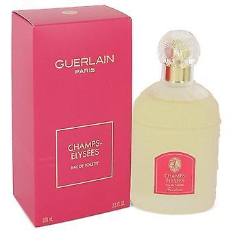 Champs Elysees Eau De Toilette Spray By Guerlain 3.3 oz Eau De Toilette Spray
