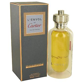 L'envol De Cartier Eau De Parfum Spray Refillable By Cartier 3.3 oz Eau De Parfum Spray Refillable