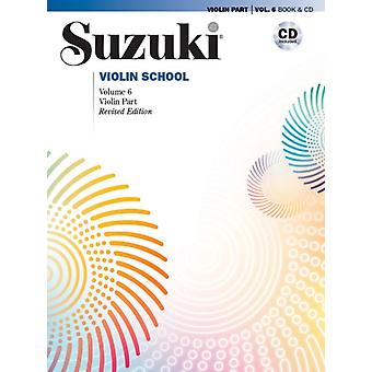 Suzuki Violin School Volume 6 by Shinichi Suzuki