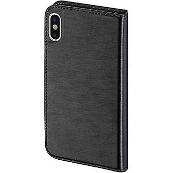 Hama Slim Flip Case Apple iPhone X Nero