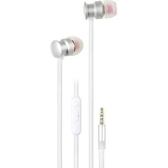 Vivanco URB 60 SW Hi-Fi In-ear headphones In-ear Silver, White
