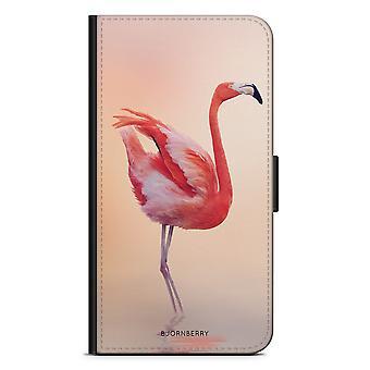 Bjornberry Wallet Case iPhone 5/5s/SE - Flamingo