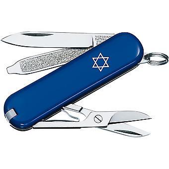 Victorinox Swiss Army Star of David Classic SD Pocket Knife