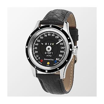 Bavarian Crono - Armbanduhr - Edition Jaguar E-Type 12 Zyl Tacho Uhr