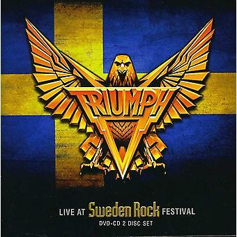 Triumph - Live at Sweden Rock Festival [CD] USA import