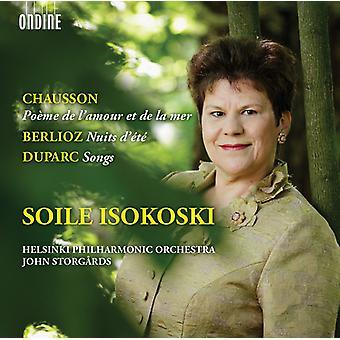 Chausson / Isokoski / Helsinki Philharmonic Orch - Poeme De L'Amour Et De Lar Mer / Nuits D Ete [CD] USA import