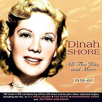 Dinah Shore - alle Hits & mere 1939-60 [CD] USA importen