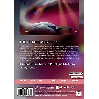 Tchaikovsky Files: Confessions of a Composer [DVD] USA import