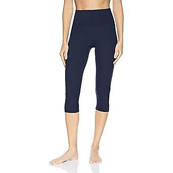 Brand - Core 10 Women's Standard Nearly Naked Yoga High, Navy, Size Large