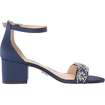 Blue by Betsey Johnson Women's Sb-Mel Heeled Sandal