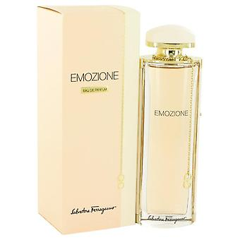 Emozione Eau De Parfum Spray By Salvatore Ferragamo 3.1 oz Eau De Parfum Spray