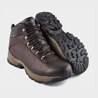 Hi Tec Men's Eurotrek Lite Walking Boots Dark Chocolate