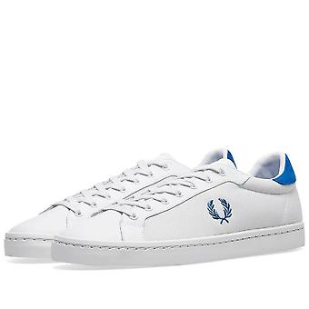Fred Perry Men's Lawn Leather Mesh Trainers B5119-183
