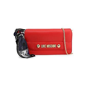 Love Moschino - Bags - Clutches - JC4226PP08KD_0500 - Ladies - Red