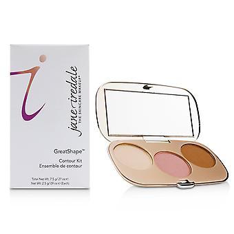 Great shape contour kit (1x highlight, 1x blush, 1x contour) # cool 239436 7.5g/0.27oz