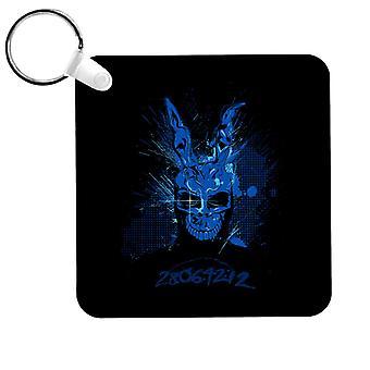 Frank The Rabbit Donnie Darko Splash Keyring