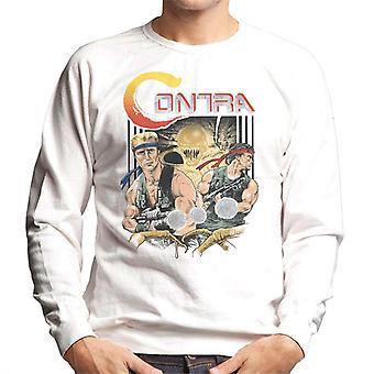 Contra Game Cover Men's Sweatshirt