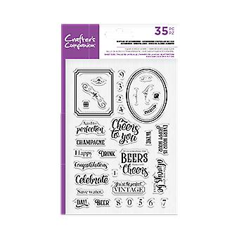 Crafter's Companion Clear Stamps - Botellas de Accesorios