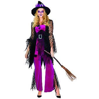 Spider Witch purple dames de conte de fées costume costume d'araignée