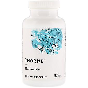 Thorne Research, Niacinamida, 180 Cápsulas