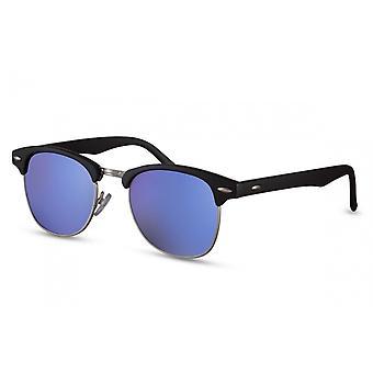 Okulary przeciwsłoneczne Unisex Traveler Cat.3 Czarny/Niebieski (CWI770)