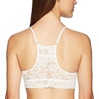 Brand - Mae Women's Lace Racerback Bralette with Removable Pads (for A...