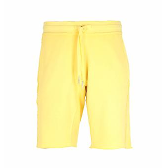True Religion Popcorn Yellow Shorts