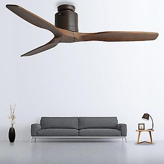 52inch Wooden Ceiling Fan With Remote Control Without Light
