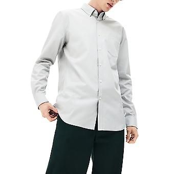 Lacoste menn's bomull mini pique skjorte regular fit