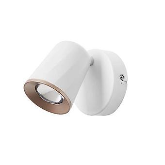 Forlight Adri - LED Single Spotlight blanco Matt Copper 810lm 3000K