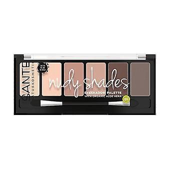 Eyeshadow palette 6 colors Nude 01 1 unit